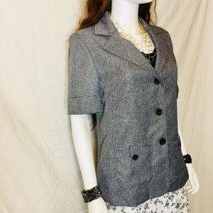 Jackets & Blazers - Women's Donnkenny Classics Short Sleeve Blazer